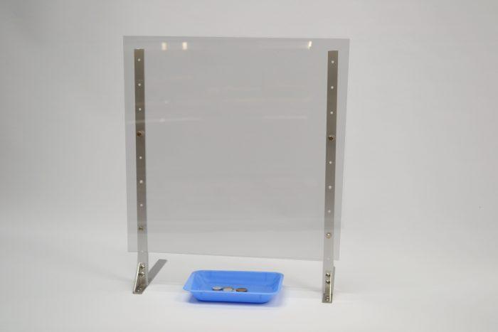 飛沫感染ボード使用例